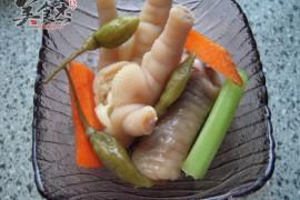 炎热的夏天就吃它----凉爽美味的泡椒凤爪