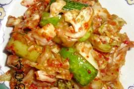正宗韩式泡菜的做法[小草根家庭美食]