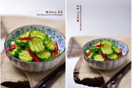 速腌小黄瓜的做法【陈美桥】