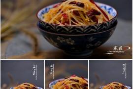 外婆土豆丝的做法【陈美桥】