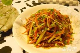 凉拌三丝的家常做法大全(海带丝、胡萝卜丝、莴笋丝)