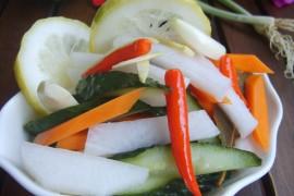 酸辣泡菜的做法_家常酸辣泡菜的做法【图】
