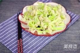 四川凉拌菜培训:凉拌菜花的做法_家常凉拌菜花的做法【图】