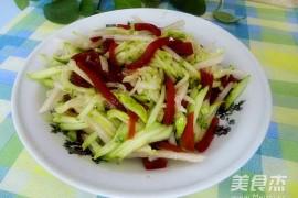凉拌三丝的家常做法大全(黄瓜丝、鸭梨丝、山楂糕丝)