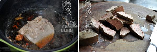 麻油拌卤猪肝的做法_麻油拌卤猪肝怎么做[籁籁]