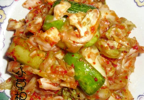 正宗韩式泡菜的做法