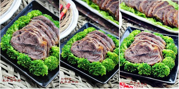 无水卤牛肉的做法
