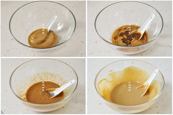 酸甜麻酱蘸生菜的做法