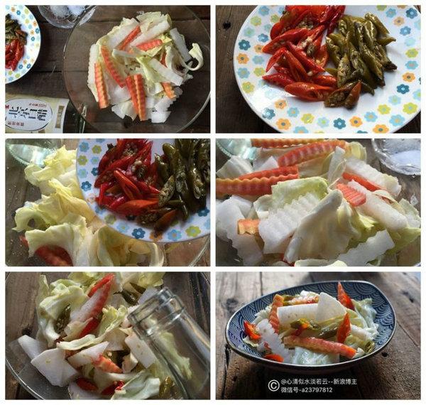 重庆跳水泡菜的做法